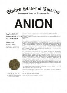 ANION TM USA