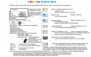 e-Romania project 2015 PERSOANE JURIDICE