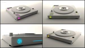 Yahmala CD turn-table_concept